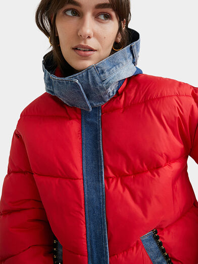 AUSTEN Padded jacket with removable hood - 4