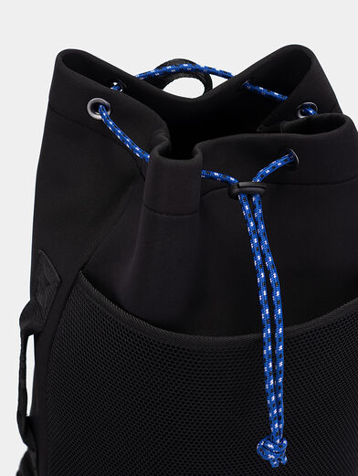 Black backpack with logo - 6