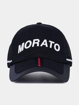 Бейзболна шапка с контрастни детайли - 1