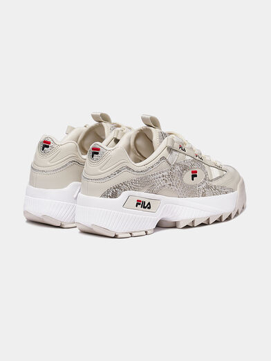 D-FORMATION Sneakers with animal print - 2