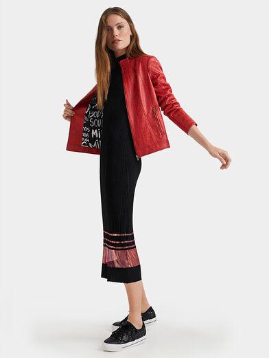 Slim high neck jacket - 6