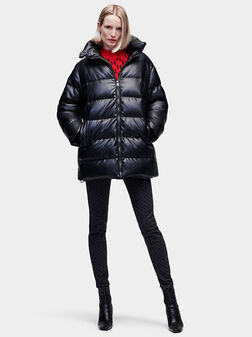 Down jacket in black - 1