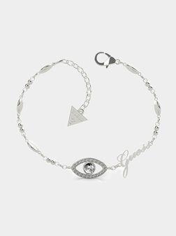 Triangle logo charm bracelet - 1