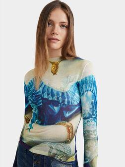 Arty long sleeve t-shirt - 1
