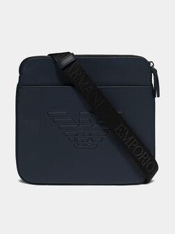 Navy blue crossbody bag - 1