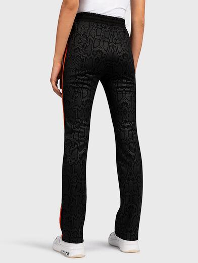PANDORA Sports pants with animal print - 2