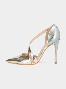 GINETTA Laminated court shoes - 1
