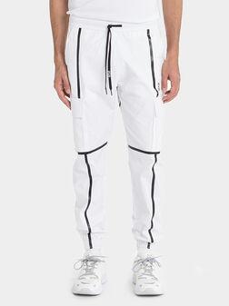 Панталон с контрастни ленти - 1