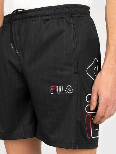 JANI Shorts with logo print - 3