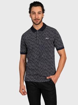 Polo-shirt with print DEWAYNE - 1