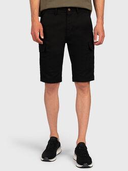 Къси панталони BEN в черен цвят - 1