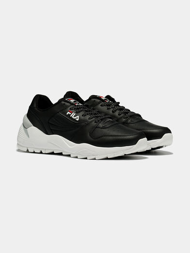 ORBIT CMR JOGGER L Black sneakers with contrasting sole - 2