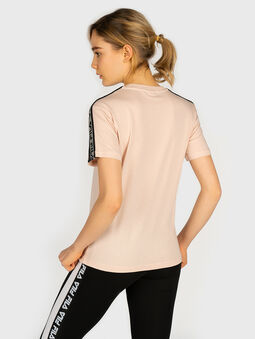 TAMSIN T-shirt with contrasting logo print - 3