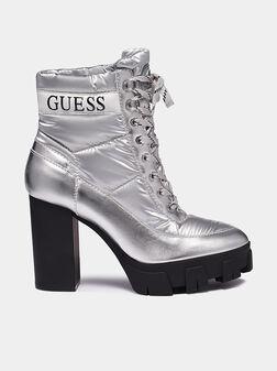 NASHIA Silver colored boots - 1