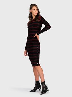 Striped dress - 1