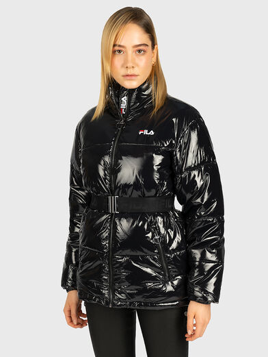 AVVENTURA Padded jacket with glossy effect - 1