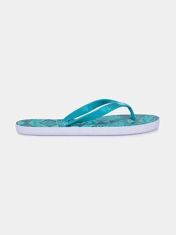 Плажни чехли с животински принт - 1