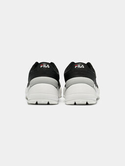 ORBIT CMR JOGGER L Black sneakers with contrasting sole - 4
