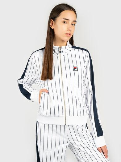 HALA Striped sweatshirt  - 1
