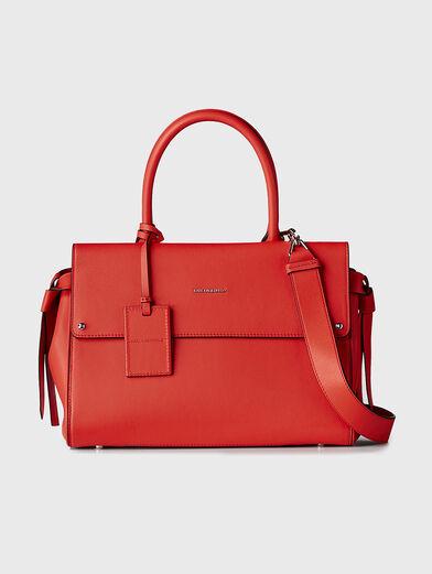 K/IKON Leather top handle bag - 1