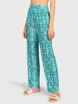 Панталон с висока талия - 1