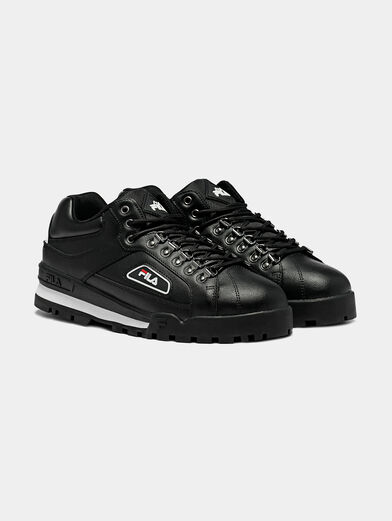 TRAILBLAZER L Black sneakers with chunky sole - 2