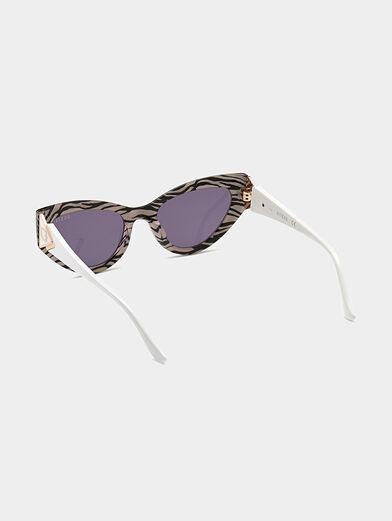 Sun glasses with animal print - 3