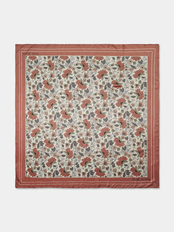 NELLA Scarf with floral print - 1