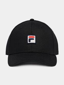 Baseball cap with logo detail - 1