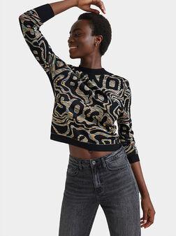 Knit jumper jacquard - 1