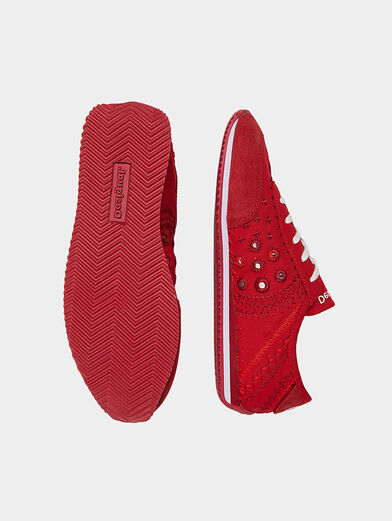 Embroidered sneakers  - 6