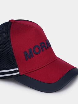 Бейзболна шапка с мрежест детайл - 1