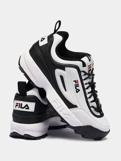 DISRUPTOR CB LOW Black and white runners - 4