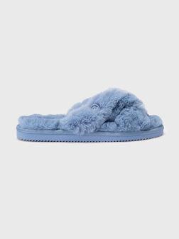 LALA Blue flip-flops - 1