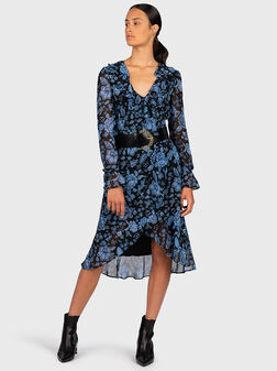 Dress with floral print - 1