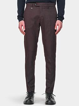 Панталон BRYAN в бордо - 1