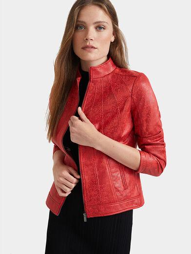Slim high neck jacket - 1