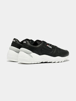 ORBIT CMR JOGGER L Black sneakers with contrasting sole - 3