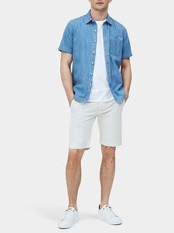 Бели панталони  QUEEN SHORT - 1