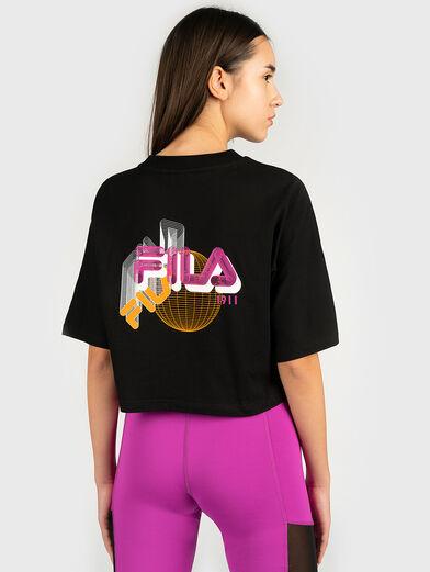 ANEMORE Shortened T-shirt - 3