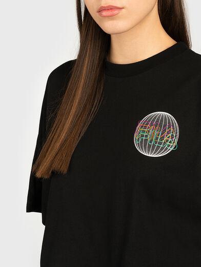 ANEMORE Shortened T-shirt - 2