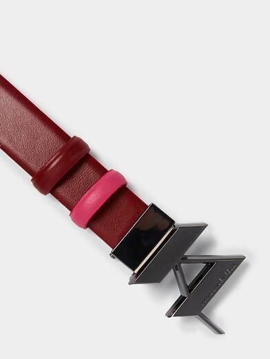 Reversible belt - 4