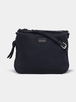 Кросбоди чанта ELEGANTE в черен цвят - 1