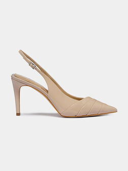 Stilleto shoes with patent look - 1