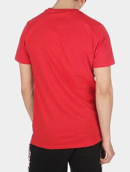 TALAN Red T-shirt with logo branding - 3