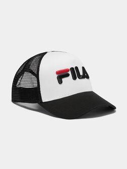 Бейзболна шапка TRUCKER с бродирано лого - 2