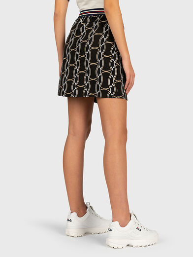 HADRIA Skirt with contrasting print - 2