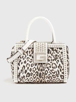 Чанта BLING с животински принт - 1