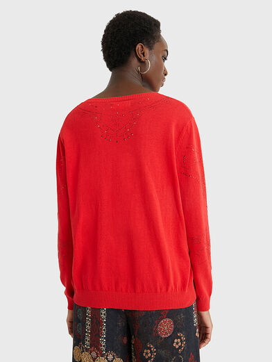 GANTE Sweater in red color - 3