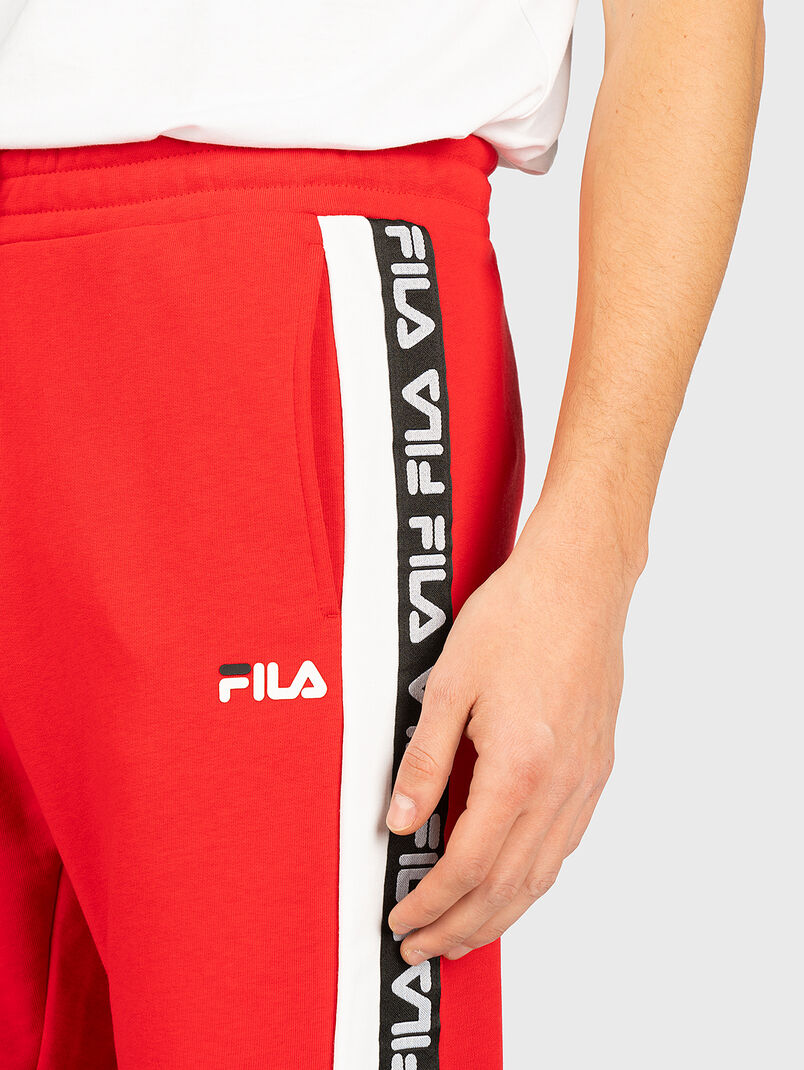 TEVIN Pants with logo branding - 3